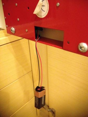 Holiday Inn Milan - Garibaldi Station: No wonder the safe didn't work...
