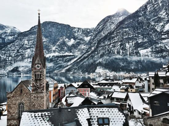 Picture Of Old Town, Hallstatt