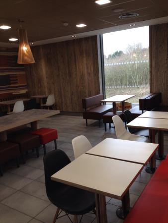 Upper Poppleton, UK: Toilets (upstairs) and second floor dining area