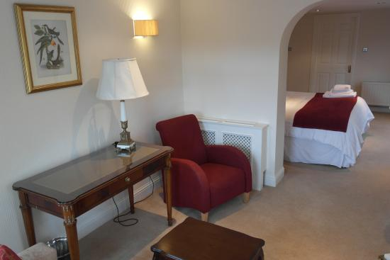 Ballyvaughan, Irland: Garden Suite Lving ares