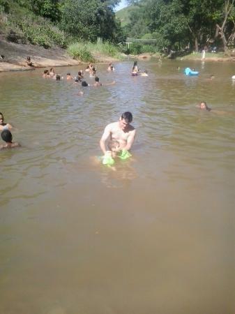 Santa Leopoldina, ES: Águas rasas
