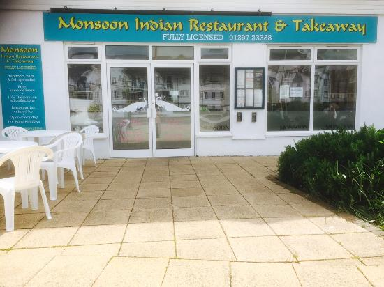Seaton, UK: Front of the Restaurant