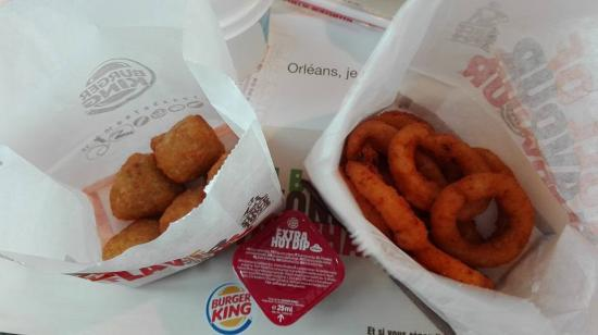 Burger King Onion Rings Et Chili Cheese Nuggets