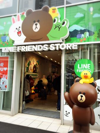 Line Friends Store, Harajuku
