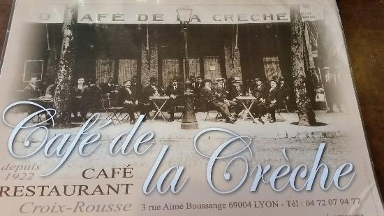 Cafe de la creche