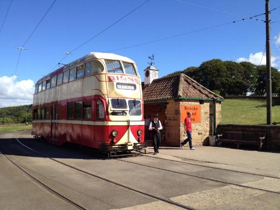 Old Tram in Beamish Open Air Museum