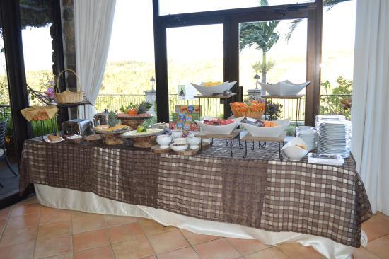 Restaurante Raices: Desayuno continental