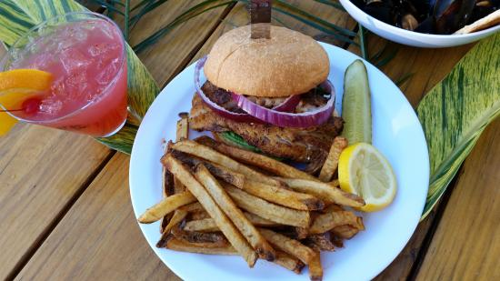 Port Richey, FL: Best place to find a delicious Grouper sandwich!