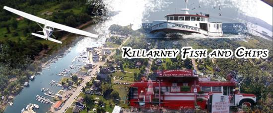 Owen Sound, Canadá: Killarney for Fish and Chips is a memory for life!