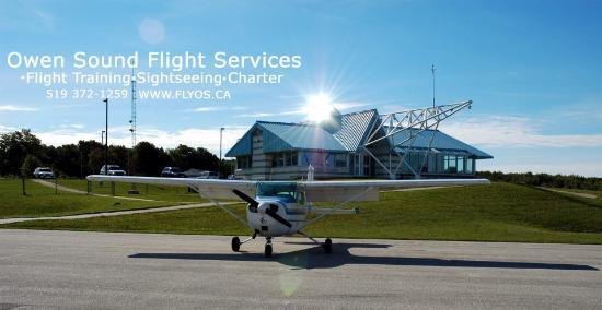 Owen Sound Flight Services: Reaching new heights every day!