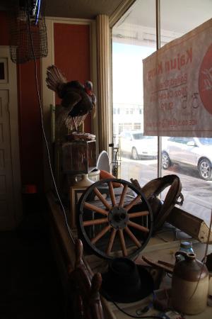 Saint Martinville, LA: Devanture du restaurant...