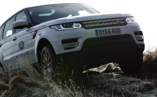 range rover sport in the ruts picture of land rover experience rh tripadvisor co uk