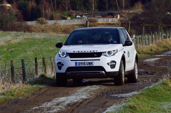 Dunkeld, UK: The Discovery Sport