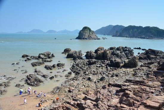 Dongtou Scenic : 洞頭海邊的一景