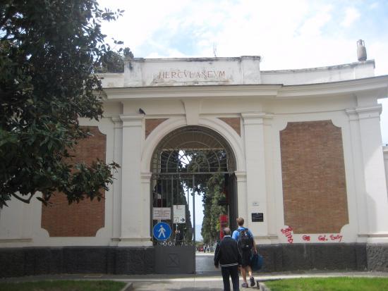 Ercolano, Italia: entrance