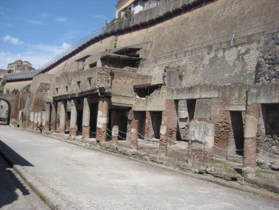 Ercolano, Italia: the site