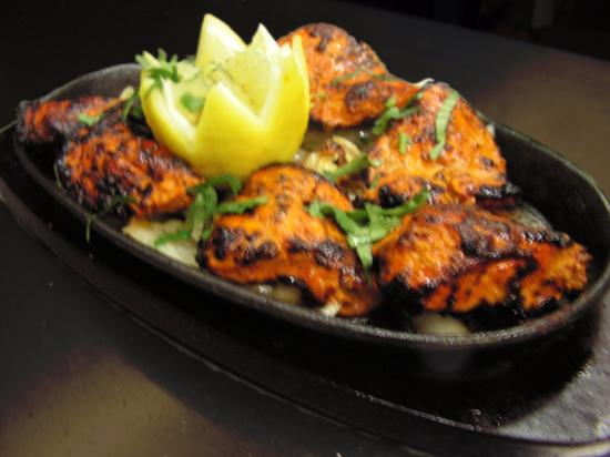 Sheray Punjab: I would recommend this, the chicken sizzler.