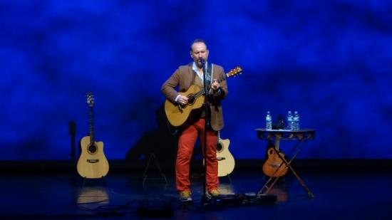 Diana Wortham Theatre: Colin Hay-Not a bad seat in the house