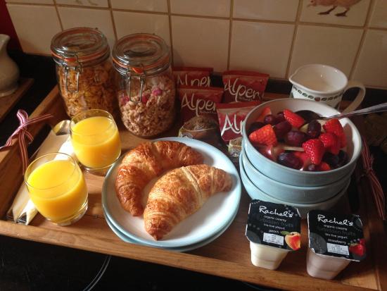 Petersfield, UK: Yummy breakfast