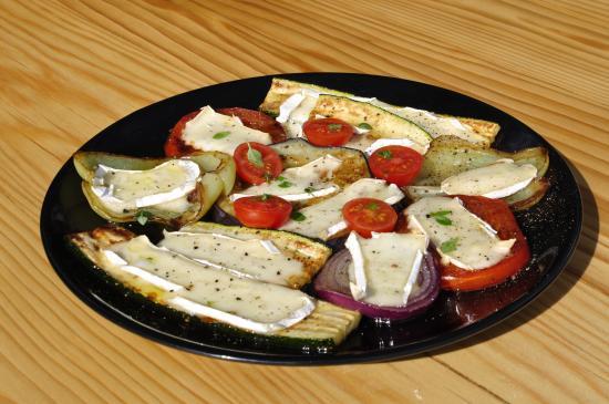 Viganj, Κροατία: Vegetarian plate