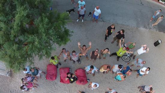 Viganj, Κροατία: Happy, shiny regulars and staff