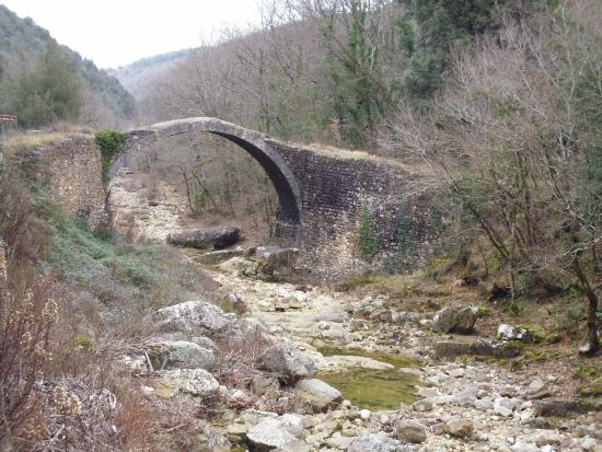 Rosia, Włochy: Vista da nord