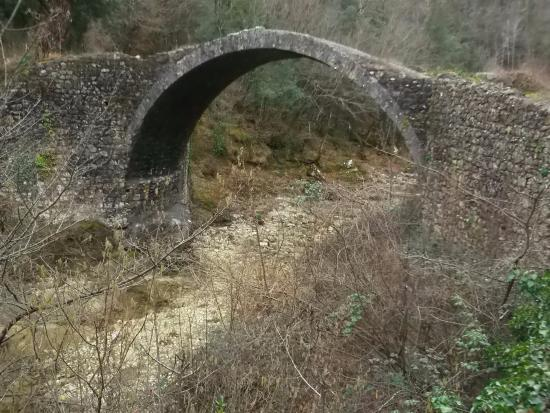 Rosia, Italia: Vista da sud