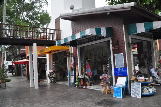Μποφούτ, Ταϊλάνδη: Folktomt shoppingområde