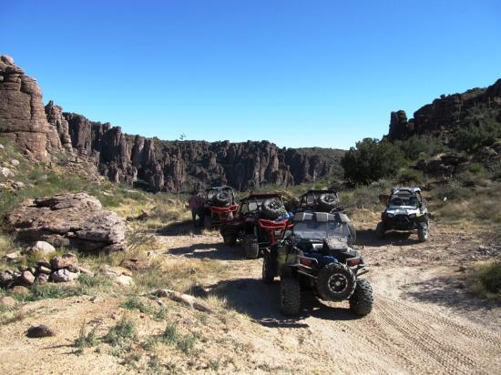 Florence, AZ: Oak Flat area near Superior. Beautiful, but rough ride.
