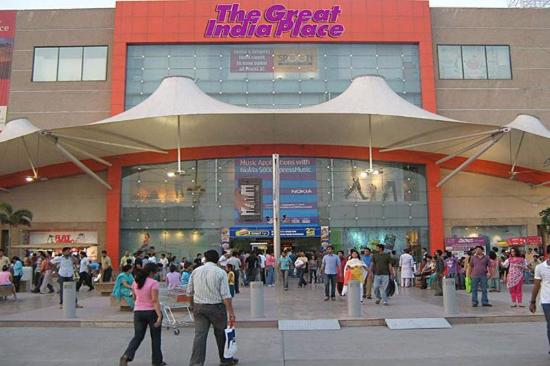 entrance for gip mall picture of the great india place noida