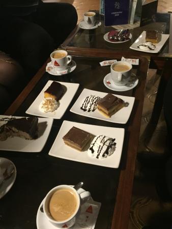 cafe y tarta