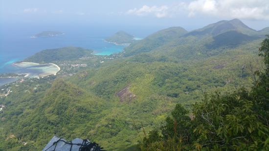 Victoria, Seychellene: View from summit