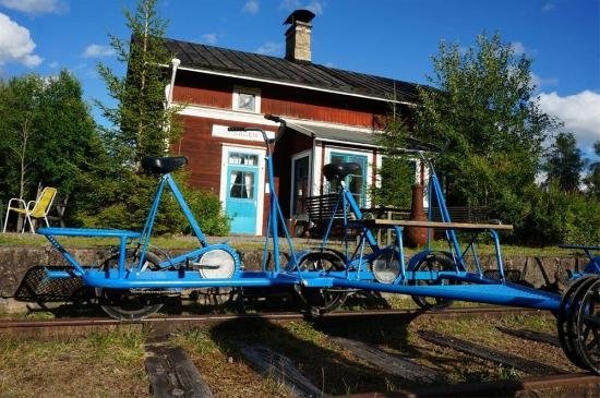 Vansbro, Sweden: Dressinuthyrning