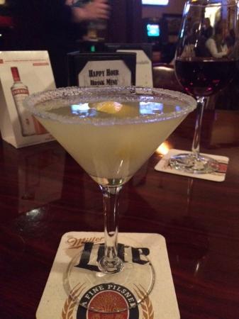 Cypress, TX: excellent Lemon Drop martini!