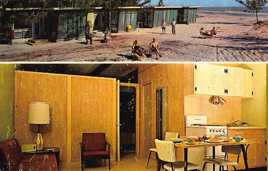 Tropical Winds Motel & Cottages: Tropical Winds in the 1950's when it was called Trade Winds