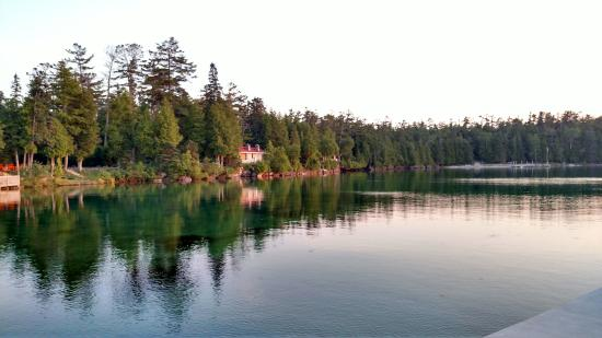 Baileys Harbor, WI: Gordon Lodge - Bailey's Harbor - North Bay - Door County - Top Deck - Forget Me Knot Cabin - lod
