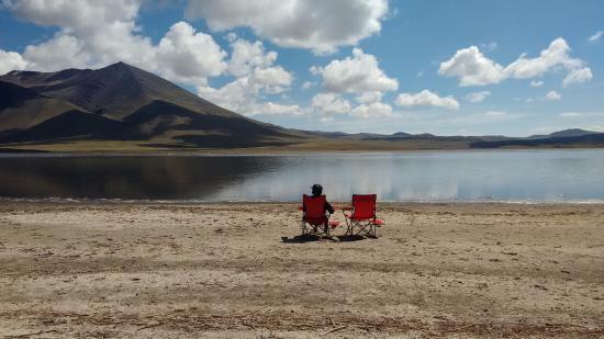 Chos Malal, Argentina: Laguna Tromen