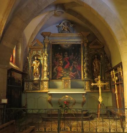 Glise saint fleuret estaing picture of saint fleuret for Interieur eglise