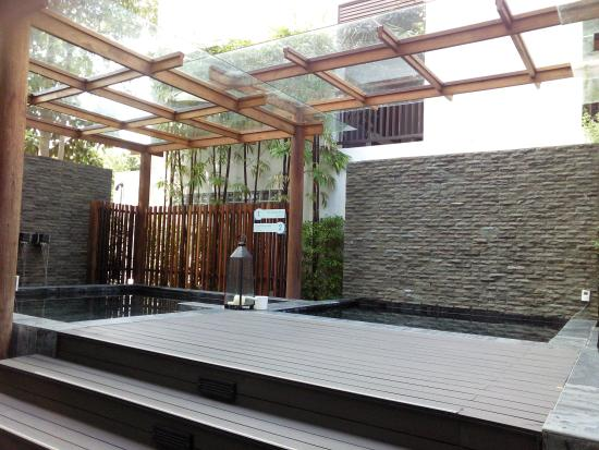 RarinJinda Wellness Spa Resort: Outdoor onsen