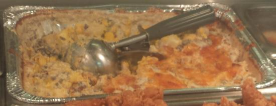 Gulf Breeze, FL: Their infamous breakfast casserole.  Delish!