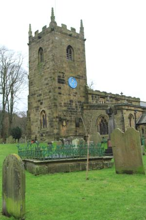 The Church of St Lawrence, Eyam