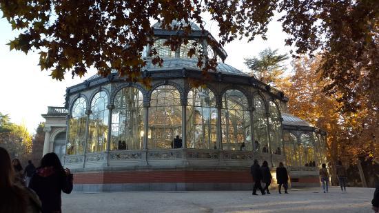 Retiro-Park: Palacio de Cristal