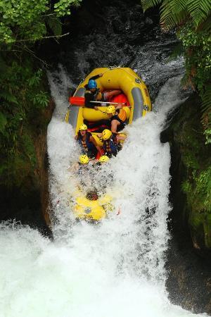 Hamurana, Nueva Zelanda: wild rafthing
