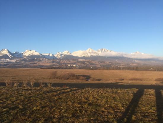 Tatranska Lomnica, Slovaquie : From far