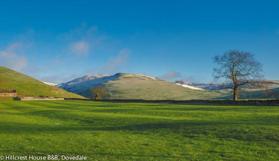 Dovedale, UK: Thorpe pastures