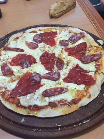 Pizza Negra