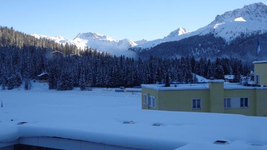 Arosa Vetter Hotel: View from Bel-Etage Room