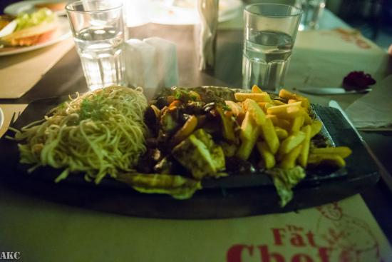The Fat Chef : Sizzler was good not great.