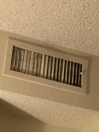 Extended Stay America Dallas Richardson Black Mold On Air Vents In Bedroom