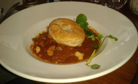 Homemade steak pie - Picture of Terrace Restaurant ...